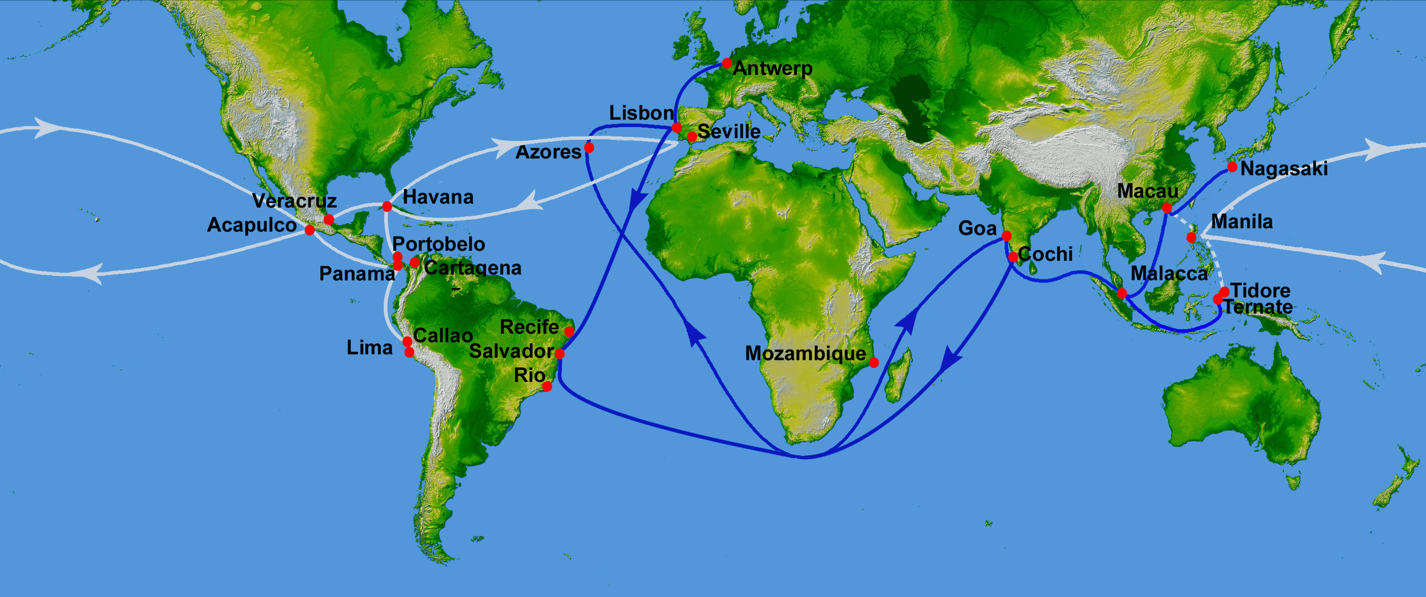 Ap world history european and arab explorers european and arab explorers difficult global trade routes digital image wikimedia np 15 may 2010 web 18 may 2016 gumiabroncs Image collections