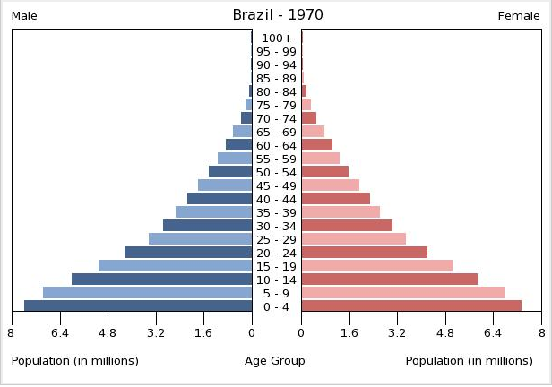 ap human geography analyzing changes in brazil s population pyramid