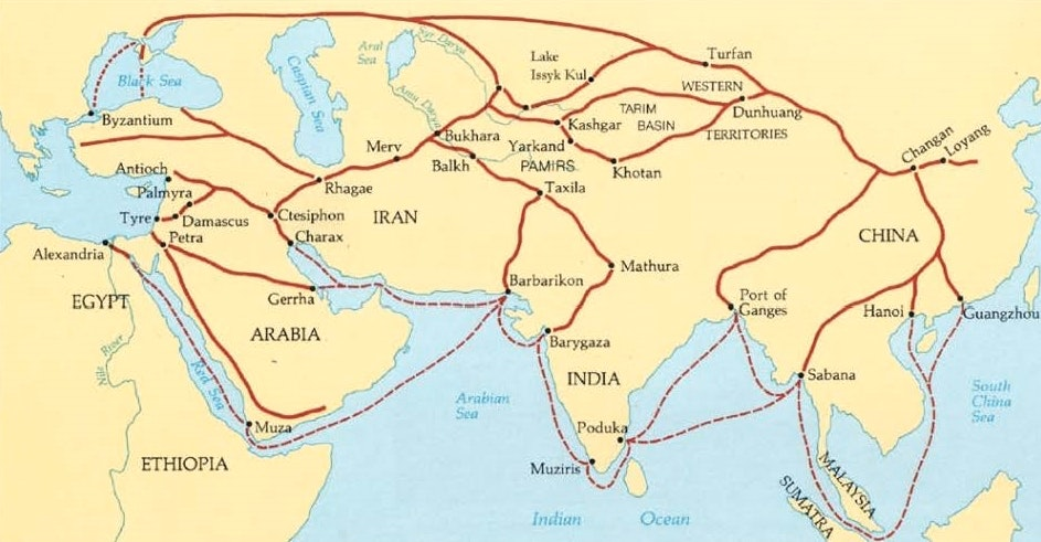 Ap world history disruption of trade map digital image china tour guide web 8 aug 2016 gumiabroncs Gallery