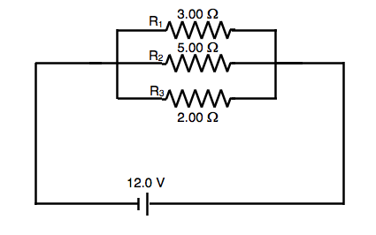 SAT Subject Test in Physics - Simple Parallel Circuit Currents