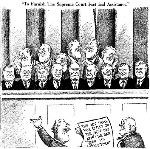 SAT Subject Test in U S  History - FDR in Political Cartoons