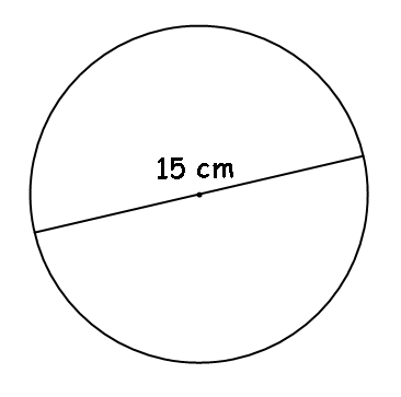 mastery math geometry find circumference of circle