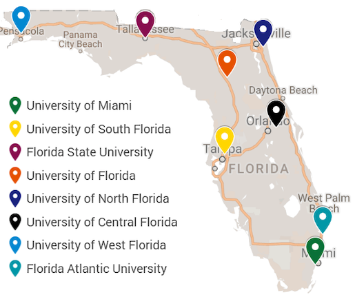 University Of Florida Location Map.Top 10 Punto Medio Noticias Google Maps Florida State