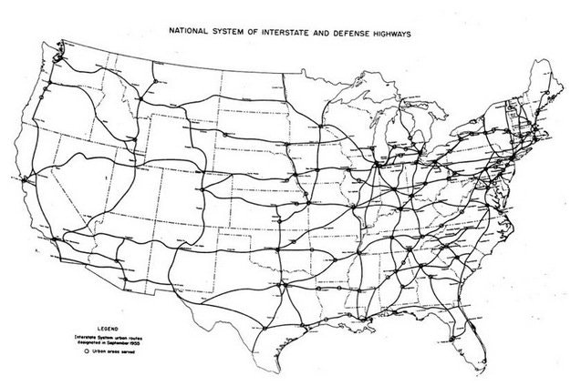 proposed interstate highway system digital image needs of the highway systems 1955 1984 28 mar 1955 web 2 mar 2016