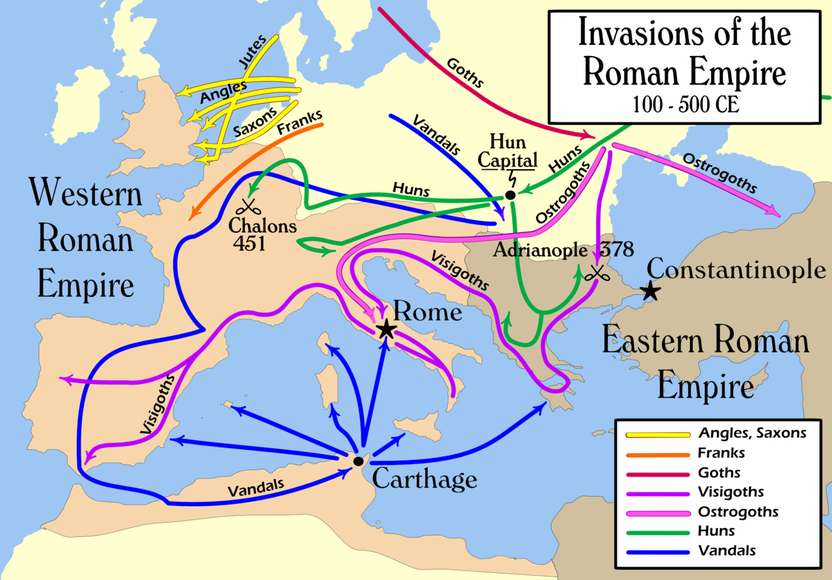 AP World History - Collapse of Empires During the Classical